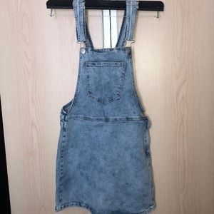 FOREVER 21 OVERALLS DRESS SMALL S